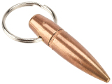 Lucky Shot USA .50 Caliber BMG Projectile Keychain
