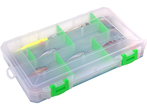 Lure Lock Tackle Box w/ ElasTak Liner (Size: Large Box / 4 Cavity)