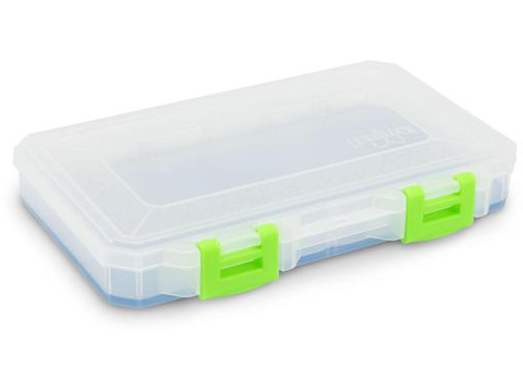 Lure Lock Tackle Box w/ ElasTak Liner (Size: Medium Box / 3 Cavity)