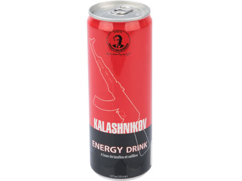 Kalashnikov Energy Drink 12oz Can