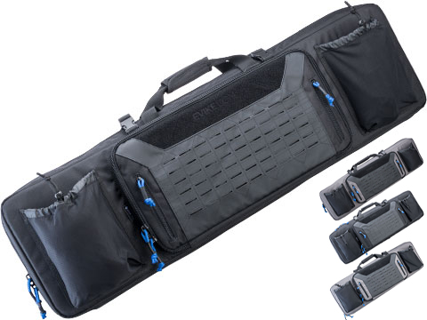 Evike.com Warp Prism Combat Ready Rifle Bag (Model: 42 / Black)
