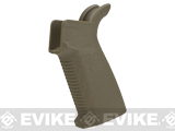 Madbull Airsoft Strike Industries Licensed Polymer EPG Motor Grip for M4 Airsoft AEG Rifles (Color: Tan)