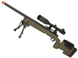 6mmProShop PDI Custom Upgraded USMC M40A3 Bolt Action Airsoft Sniper Rifle (Model: Desert)