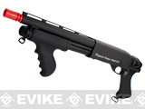 G&P M870 P.T.E. High Power Airsoft Shotgun - SWAT Mad Dog CQB Custom