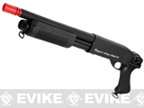 z G&P M870 P.T.E. High Power Airsoft Shotgun - SWAT CQB Custom