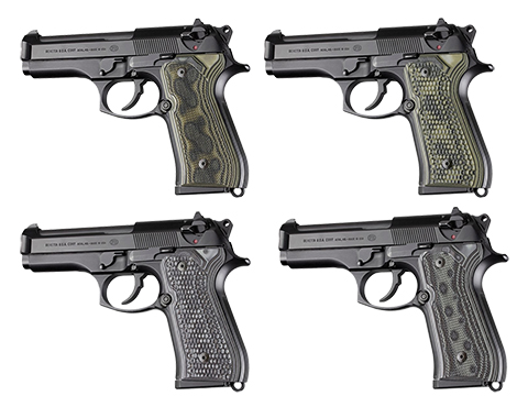 Hogue Beretta 92FS Checkered G10 G-Mascus
