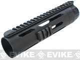 ICS Full Metal Free Float Tubular RIS Handguard for M4 / M16 Series Airsoft AEG Rifles - 8.5