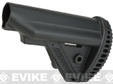 ICS MTR S1 Tactical Retractable Stock for M4/M16 Series Airsoft AEGs (Color: Black)