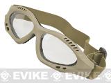 Avengers Zero Tactical Shooting Range / Target Practice Goggles (Color: Tan)