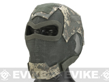 Matrix Iron Face Carbon Steel Watcher Gen7 Metal Mesh Full Face Mask (Color: ACU)