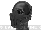 Matrix Metal Mesh Lower Half Mask w/ Soft Polymer Covering