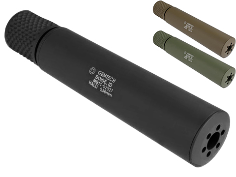 Madbull Gemtech HALO Mock Suppressor (Color: Black)