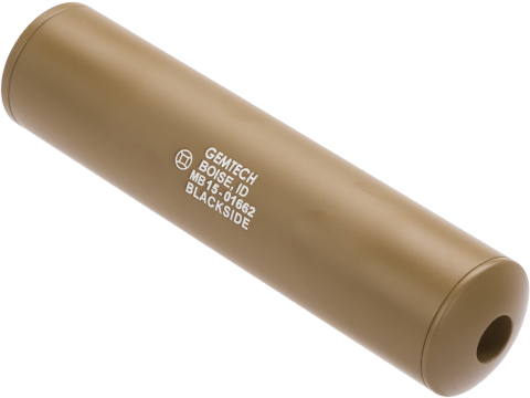 Madbull Gemtech Blackside Mock Suppressor (Color: Tan / 14mm Negative)