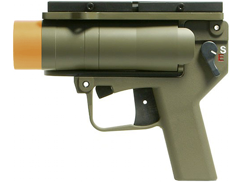 Madbull Limited Edition AGX Airsoft Grenade Launcher Pistol w/ Mount (Desert Tan)