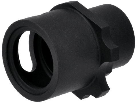 Madbull Hitman Compensator for WE / Socom Gear 1911 Series Airsoft Gas Blowback - Black