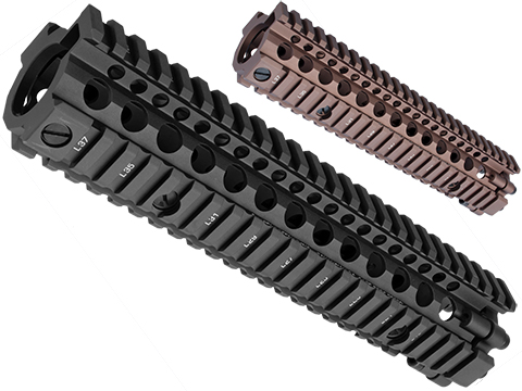 Madbull Daniel Defense MK18  M4A1 RIS II Airsoft CNC Aluminum RIS (Color: Black)