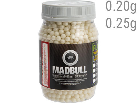 MadBull Precision 6mm Airsoft Tracer BB