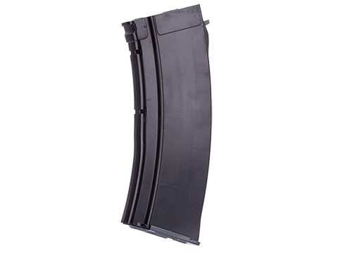 MAG 100 Round Mid-cap Magazine For AK Series Airsoft AEG (Color: Plum / 5.45 Style / One Magazine)