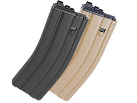 WE Spare Mag for OPEN BOLT WE M4 / SCAR / ASC / PDW Series Airsoft Gas Blowback Rifles (Version: CO2 / Black)