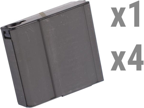 MAG Compact 70rd Metal Magazines for M14 Series Airsoft AEG Rifles