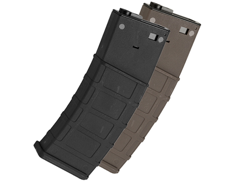 Lonex Polymer Flash Mag 360rd Hi-Cap Magazine for M4 / M16 Series Airsoft AEG (Color: Black)
