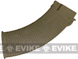 APS HELL Style 500rd Hi-Cap Magazine for Airsoft AK Series AEG (Color: Dark Earth)