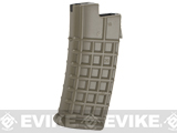 JG 330 Round Hi-Cap Magazine for AUG Series AEGs (Color: Dark Earth / Single)