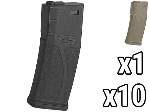 Blue Box 140rd Polymer Midcap Magazine for M4 / M16 Series Airsoft AEG Rifles