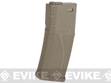 Blue Box 140rd Polymer Midcap Magazine for M4 / M16 Series Airsoft AEG Rifles (Color: Tan / Single)