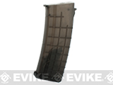 CYMA Bulgarian-Style Hi-Cap Magazine for AK Series Airsoft AEG Rifle (Color: Smoke / 450rd)