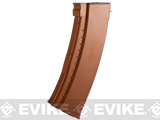 CYMA FlashMag Hi-Cap Magazine for AK Series Airsoft AEG Rifles (Color: Bakelite / 520rd / AK74-Style)