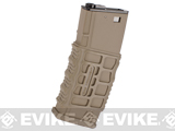 G&G Polymer 330rd G26 Type Hi-Cap Magazine for M4 / M16 Series Airsoft AEG Rifles (Color: Tan)