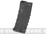 Command Arms CAA Licensed 360rd Magazine for M4 M16 Airsoft AEG by King Arms (Color: Black)