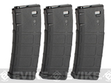 KWA 30 / 60 Round Magazine for RM4 Airsoft ERG Rifle (Qty: 3 Pack)