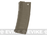 KWA K120 120rd Polymer Midcap Magazine for M4 / M16 Series Airsoft AEG Rifles (Color: Flat Dark Earth / One)