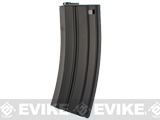 Matrix / CYMA Delta Metal Magazine for M4 / M16 / MK16 / L85 Series Airsoft AEG Rifles (Capacity: 450 Round Hi-Cap / Black)