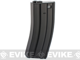 CYMA 130rd Metal Mid-Cap Magazine for M4 / M16 Series Airsoft AEG Rifles (Color: Black)