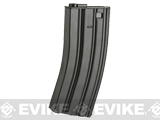 JG Metal 300rd Hi-Cap Magazine for M4/M16 Series Airsoft AEG Rifles (Package: Single Magazine)