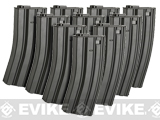 JG Metal 300rd Hi-Cap Magazine for M4/M16 Series Airsoft AEG Rifles (Package: Set of 10)