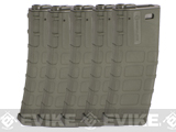 Magpul PTS Licensed 360rd High Cap Mag for M4 M16 Series Airsoft AEG (Foliage Green / Set of 5)