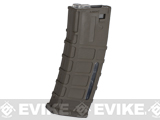 A&K 300rd Masada Type Hi-Cap Magazine for Masada / M4 / M16 Airsoft AEG Rifles - Dark Earth