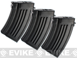 Matrix / Echo1 Full Metal 280rd Hi-Cap Magazine for AK series Airsoft AEG (Set of 3)