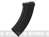 Matrix 150rd Mid-cap No Winding Magazine for AK Series Airsoft AEG (Color: Black / Polymer)