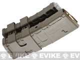 Matrix 800rd Electric Double Polymer Magazine for M4 / M16 Series Airsoft AEG Rifles - Dark Earth