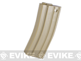 Elite Force 140rd Midcap Magazine for M4 / M16 Series Airsoft AEG Rifles (Color: Dark Earth / One)