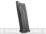 WE-Tech 30 Round Magazine for Hi-Capa Gas Blowback Airsoft Pistols (Color: Black / Short Base / Green Gas)