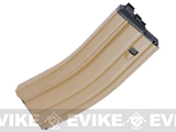 WE-Tech 30 Round Steel Magazine for WE Open Bolt M4 Airsoft Gas Blowback Series Rifles (Version: CO2 / Tan)