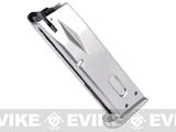 Magazine for WE / Marui M9 Series Airsoft Gas Blowback Pistols (Chrome / Silver)