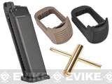 SOCOM Gear CO2 Magazine Set for SAI BLU ISSC M22 Lonewolf & Compatible Airsoft Gas Blowback Pistols