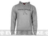 Magpul� Sweatshirt, Pull-Over Hoodie - Gunmetal Heather / Large